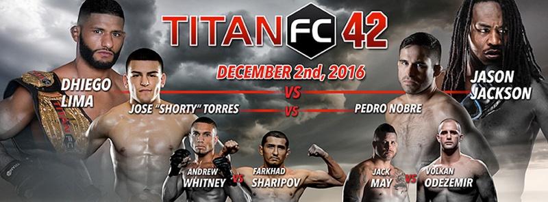 Гесиас Кавальканте – Роберт Тернквист на турнире Titan FC 42