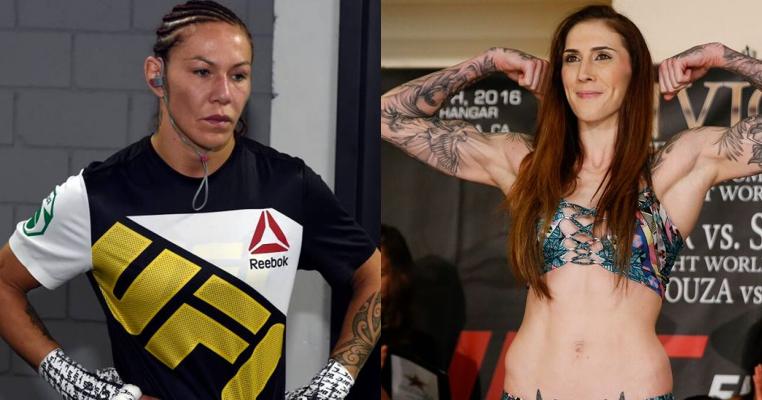 Крис Сайборг против Меган Андерсон на UFC 214