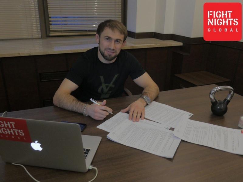 Али Багаутинов возвращается в Fight Nights Global