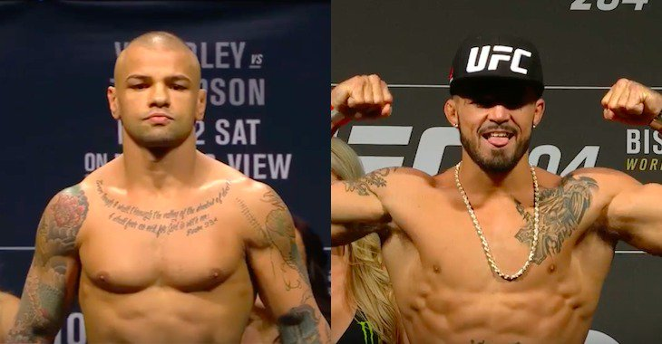 Алвес против Перри и Ломбард против Смита на UFC в Питтсбурге, в сентябре