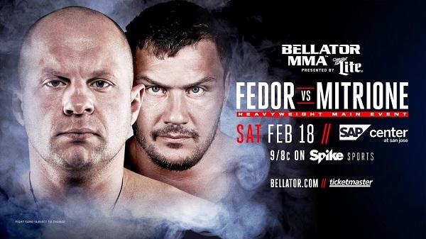 Bellator надеется на отметку в 2 миллиона зрителей во время боя Емельяненко – Митрион