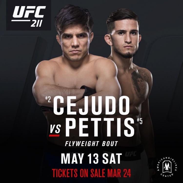 Сехудо — Петтис на UFC 211
