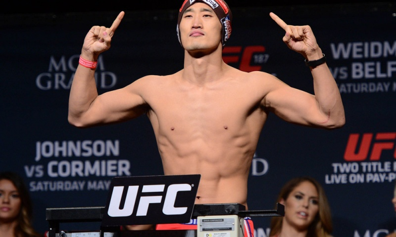 Тарек Саффедин — Дон Хьюн Ким на UFC 207