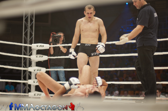Результаты полуфинала чемпионата России по смешанным боевым искусствам