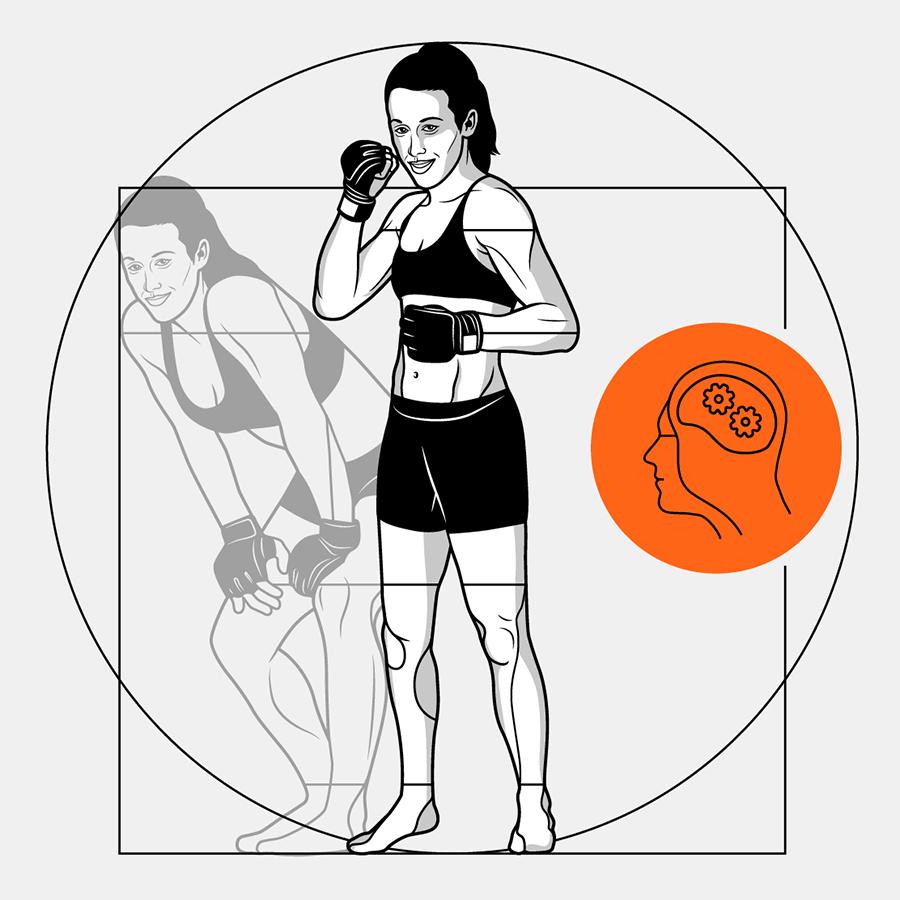 Формула идеальной женщины-бойца ММА