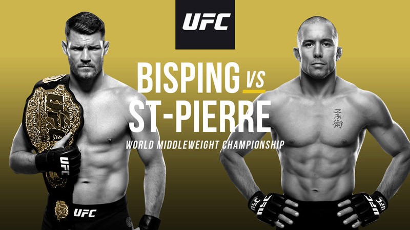 Bisping vs St-Pierre