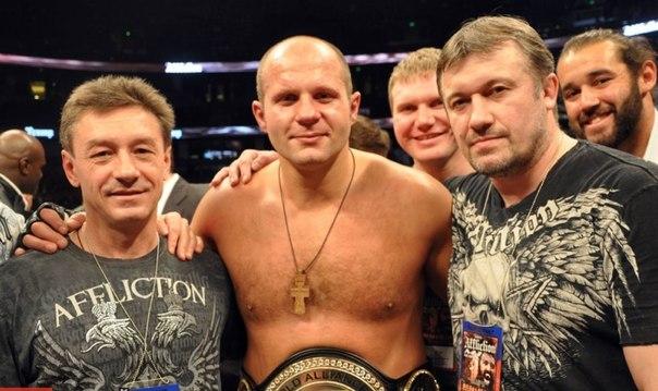 Тренер Емельяненко: Фёдору уже не надо ничего доказывать