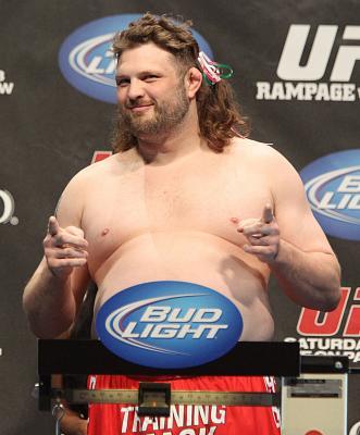 Фотогалерея: Взвешивание UFC 130