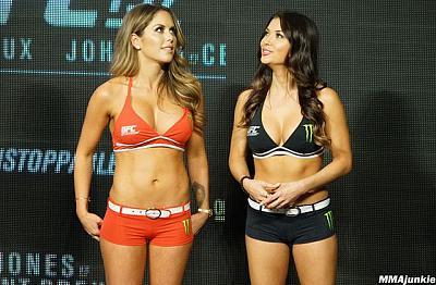 Фотогалерея: Взвешивание UFC 197