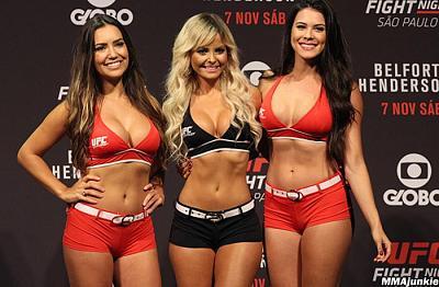 Фотогалерея: Взвешивание UFC Fight Night 77