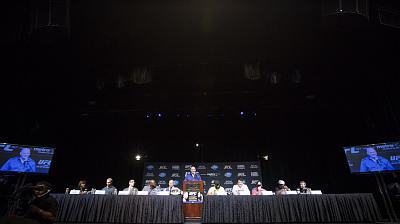 Фотогалерея: Конференция UFC 167
