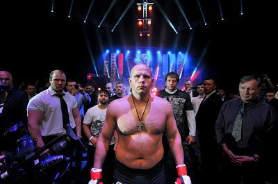 Фотогалерея: Последний бой Фёдора Емельяненко в MMA