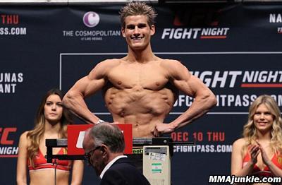 Фотогалерея: Взвешивание UFC Fight Night 80