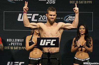 Фотогалерея: Взвешивание UFC 206